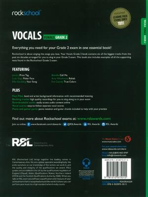 Rockschool: Vocals Grade 2 - Female (Book/Audio Download)