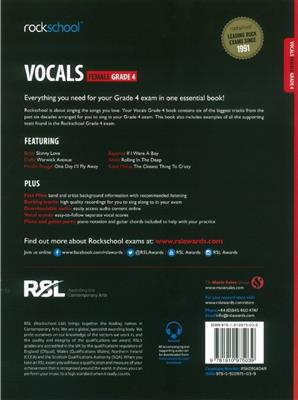 Rockschool: Vocals Grade 4 - Female (2014)