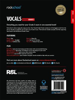 Rockschool: Vocals Grade 5 - Female (2014)