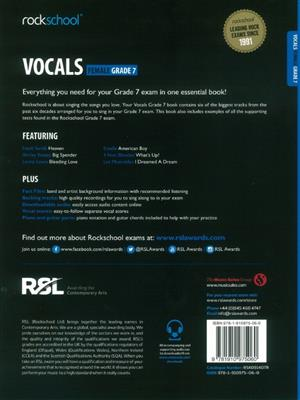 Rockschool: Vocals Grade 7 - Female (2014)
