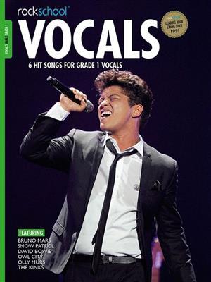 Rockschool: Vocals Grade 1 - Male (2014)
