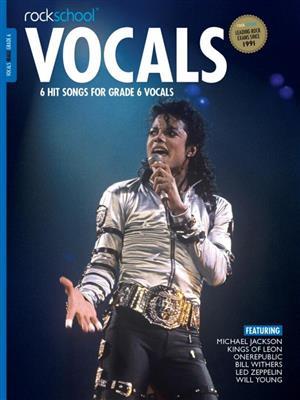 Rockschool: Vocals Grade 6 - Male (Book/Audio). Voice Sheet Music, Downloads