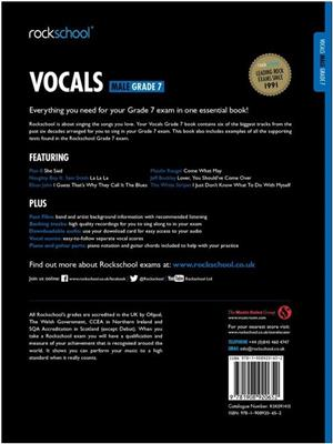 Rockschool: Vocals Grade 7 - Male (Book/Audio Download)