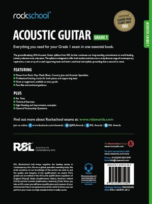 Rockschool Acoustic Guitar - Grade 1 (2016+) (Book/Online Audio)