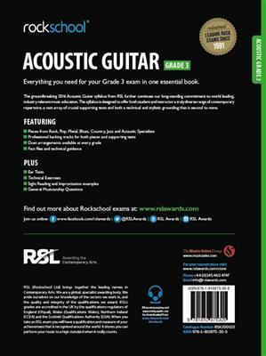 Rockschool Acoustic Guitar - Grade 3 (2016+) (Book/Online Audio)