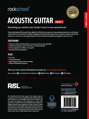 Rockschool Acoustic Guitar - Grade 5 (2016+) (Book/Online Audio)