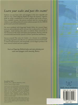 Josephine Koh Scales And Arpeggios For Piano Fingering Method Grade 1