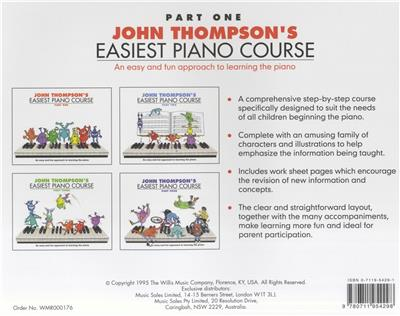 John Thompson's Easiest Piano Course: Part 1 - Revised Edition