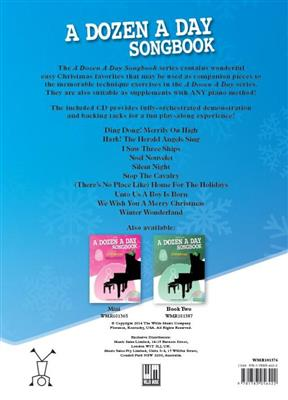 A Dozen A Day Songbook: Christmas - Book One (Book/CD)