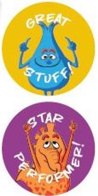 John Thompson: Achievement Stickers