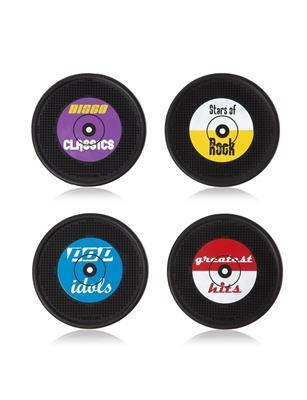 Rocket: Long Drink Coasters - Set Of 4