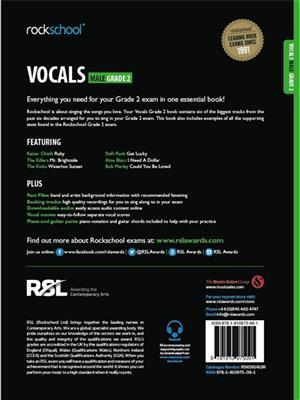 Rockschool: Vocals Grade 2 - Male (Book/Audio Download)