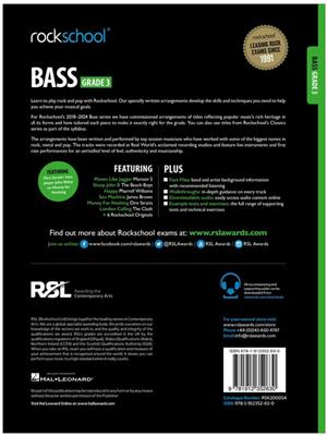Rockschool Bass Grade 3 (2018)