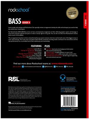 Rockschool: Bass Grade 4 2018+ (Book/Audio)