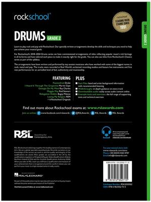 Rockschool Drums Grade 2 2018 Book Audio