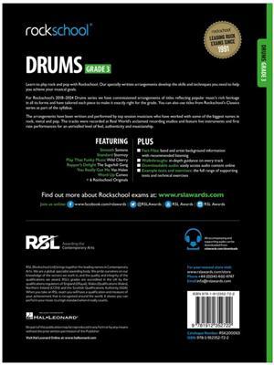 Rockschool Drums Grade 3 2018 Book Audio