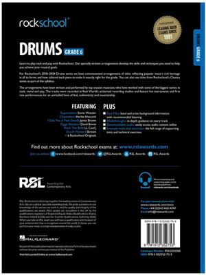 Rockschool Drums Grade 6 2018 Book Audio