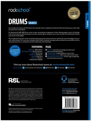 Rockschool Drums Grade 8 2018 Book Audio
