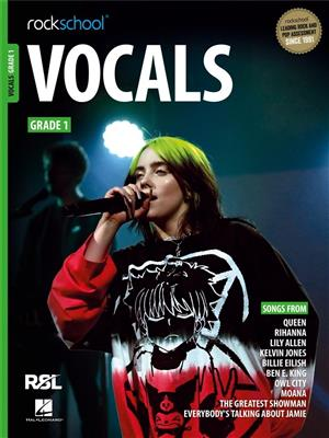 Rockschool Vocals Grade 1 (2021)