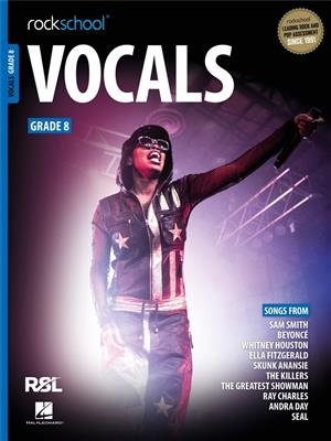 Rockschool Vocals Grade 8 (2021)